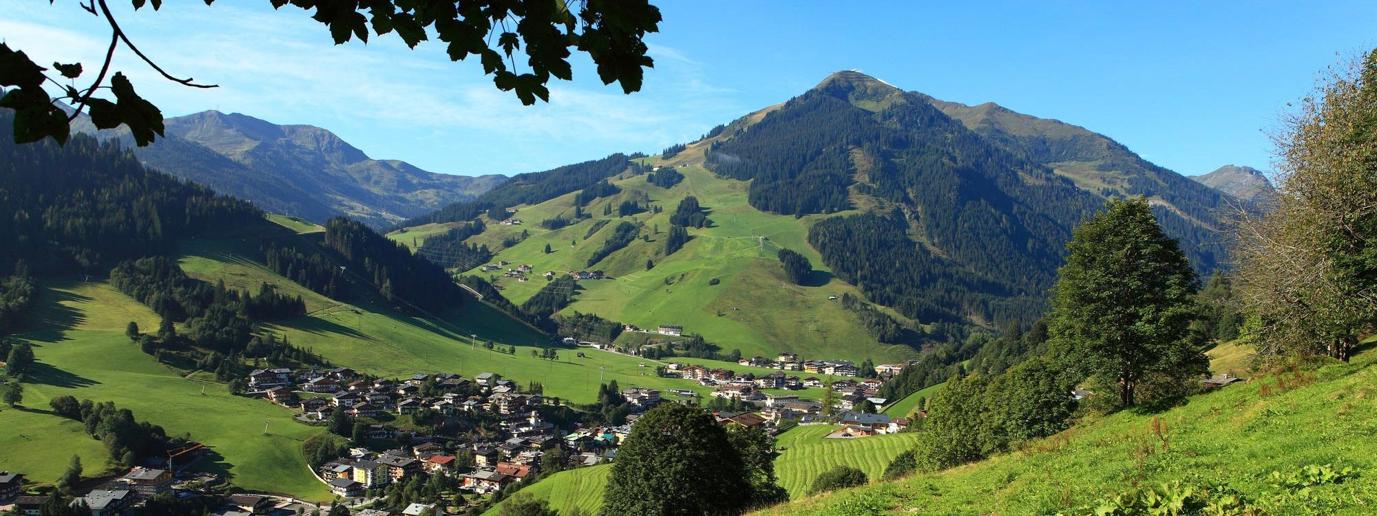 Sommer in Saalbach